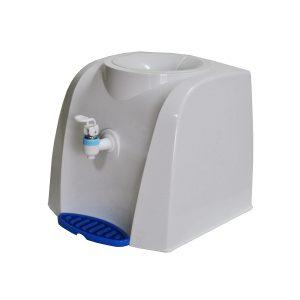 на фото диспенсер для воды пластиковый от компании по доставке воды в Черкассах Вода плюс